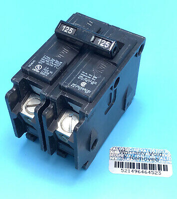 New (1) Circuit Breaker Siemens Q2125 125 Amp  2 Pole 120/240v Type QP