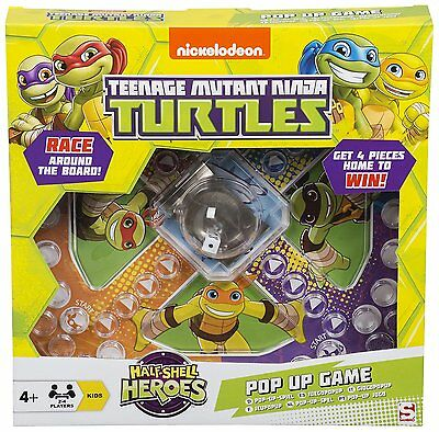 Teenage Mutant Ninja Turtles Pop Up Game Frustration Family Board Game Kids Gift
