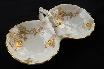 Beautiful Vintage Hammersley English Bone China Bon Bon Sweet Dish * Tea Party