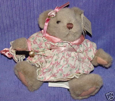 Russ Bears From The Past Flora 4794 W/parasol Tags~Bo40