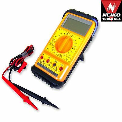 Digital Voltmeter Multimeter Current Tester AC DC Ohm Volt Voltmeter