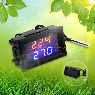 DC 12V -50-110°C W1209WK Digital thermostat Temperature Control Smart Sensor New
