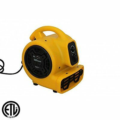 Zoom Air Mover Floor Carpet Dryer Blower 1/5 hp Commercial Portable Floor Fan