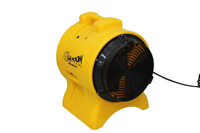"Zoom Ventilation Fan Air Mover 1/3 HP Floor Dryer Commercial Quality 8"" Fan"