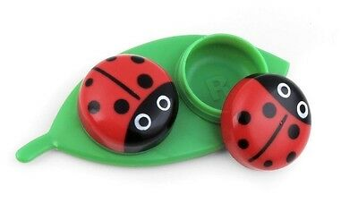 LADY BUG Contact Lens Case - for cleaning &/or storage of hard or soft contacts