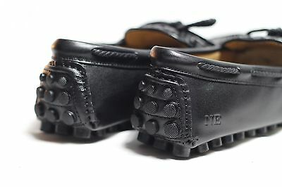 UK SIZE 8,9,10,11 Leather Loafers Black Casual Premium Mens Shoes