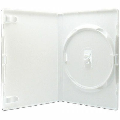 1 X Genuine Amaray Single DVD White Case 14mm Spine - Pack of 1