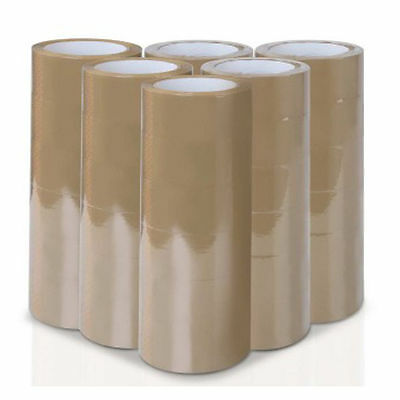 "Premium Carton Sealing Shipping Packing Tape - 36 Rolls 2""x110 Yards"