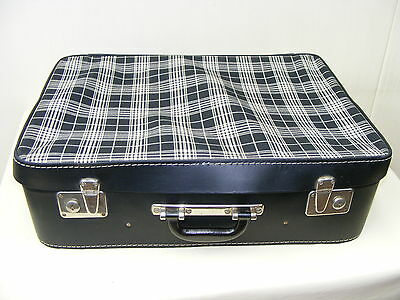 beautiful age Suitcase Fabric Diamond Shaped Travel cases Vintage Design,