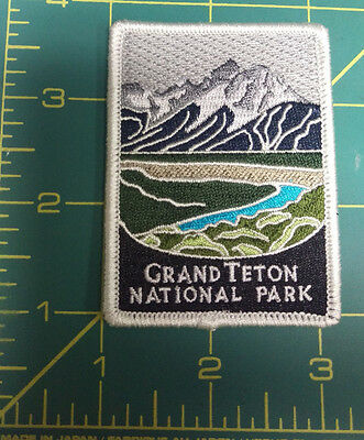 New Traveler Series Patch - Grand Teton National Park - Wyoming - Embroidered