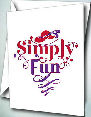 24 Note Cards W/ Envelopes Simply Fun Rhs 2015 Theme For Ladies Of Society