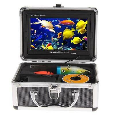 "30m 7"" Professional Fish Finder Underwater Fishing Video Camera Monitor DC 12V"