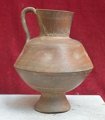 Top Quality ceramic large jug, Near East. Holy land 900-1400 AD. Islamic