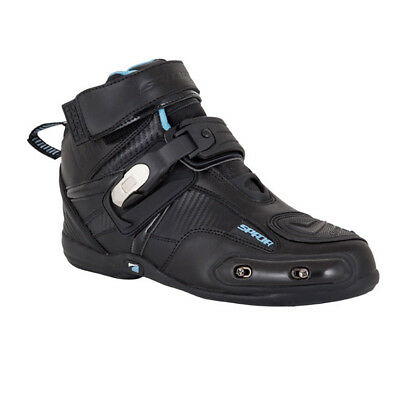 Spada Compact Gear Urban Waterproof Leather Motorcycle Short Ankle Boots   Sale