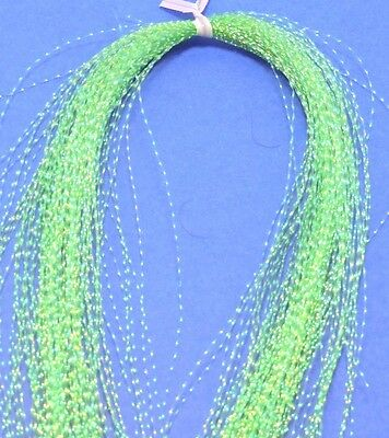 1x GREEN  CRYSTAL FLASH FLY TYING SABIKI SNAPPER CATCHER MATERIAL KRYSTAL