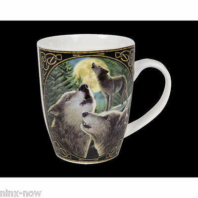 Wolfsong Mug by Lisa Parker Wolves  Fine China Collectable with Gift Box