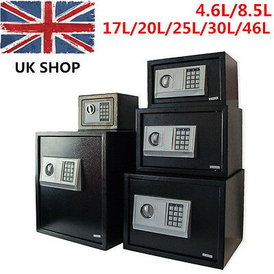 HOT Steel Secure Digital Electronic High Security Home Office Money Safety Box