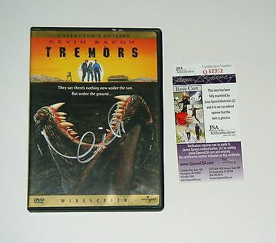 Actor Kevin Bacon Signed Tremors Collector's edition DVD Exact Proof JSA CERT