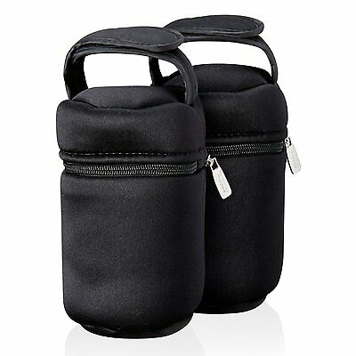 Tommee Tippee 43129371 Closer to Nature Insulated Bottle Carriers -Pack of 2