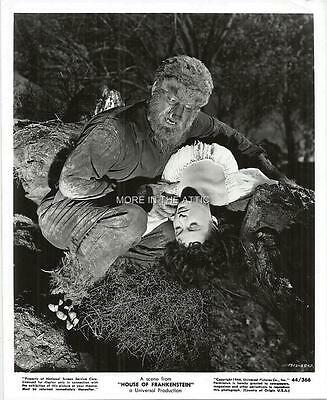 Lon Chaney Jr Universal Horror House Of Frankenstein Wolfman Film Still #1