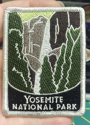 New Traveler Series Patch - Yosemite National Park - California - Embroidered