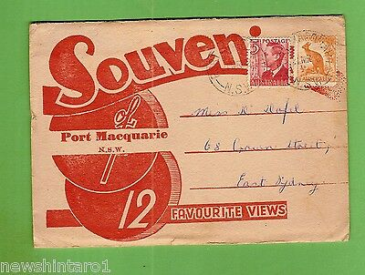 #d269. 1952  Souvenir View  Folder - Port Macquarie Nsw