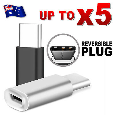 5X Micro USB to USB-C USB 3.1 Type-C Adapter OTG Converter Data Tablet and Phone