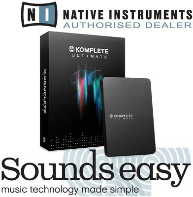 Native Instruments Komplete 11 Ultimate UPDATE Software Instrument Bundle