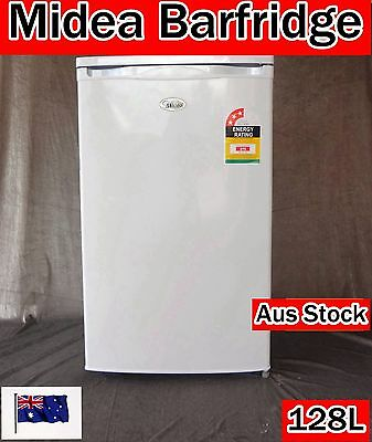Midea Bar Fridge Refrigerator 128L (White)  BC128 (Brand New)