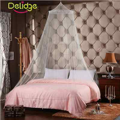 Mosquito Net Canopy Insect Bed Drape Camping Canopies Great for Travel Holidays