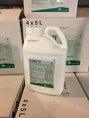 CLINIC  WEED TF/UP replaces Ace 5Litre Strong Professional Glyphosate Weedkiller
