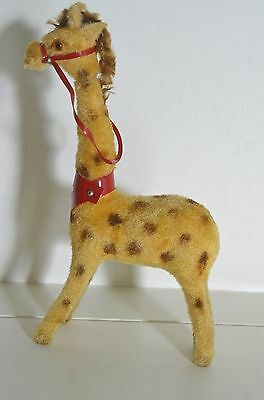 Beautiful Collectible German Vintage 1940S Stuffed Giraffe Ss40
