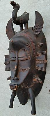 RARE Antique Child's Senufo Kpeliye Mask for Initiation, Ivory Coast, Africa