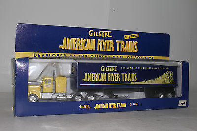 American Flyer #6-22910 Gilbert Tractor Trailer Semi Truck, Excellent, Boxed