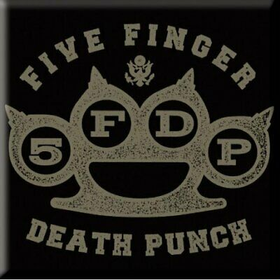 Five Finger Death Punch - Brass Knuckle Magnete ROCK OFF