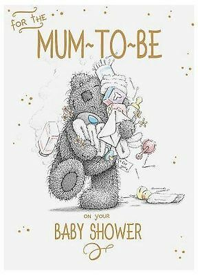 Me To You For The Mum To Be On Your Baby Shower Card Tatty Teddy Bear New Gift
