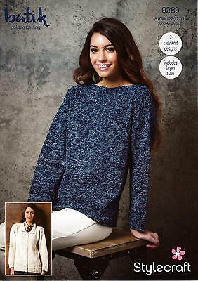 443ac85439ab3d WOMENS CARDIGAN AND sweater dk and aran knitting pattern 99p - £1.75 ...