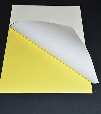 A4 White SemiGlossy Self-adhesive Sticker Sticky Back Label Printing Paper Sheet