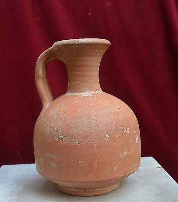 Top quality Roman ceramic redware jug 200-400 AD