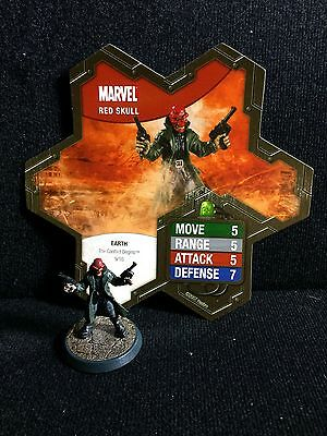 Red Skull Heroscape Marvel Master Set Figure And Card Conflict Begins Replace