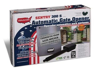 U.S. Automatic Sentry 300 S Single Swing Gate Opener Kit