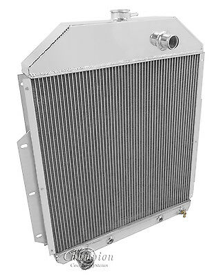 AS 3 Row Radiator For 1942-52 Ford Truck with Ford Configuration