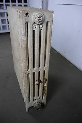 "Antique Vintage Crane 'Compac' Hot Water or Steam Radiator 12-Fin 22""L (CC1)"