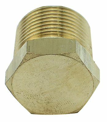 "Brass Plug Fitting - 3/4"" Male BSP - 4350PSI – Tapered (Box of 5)"