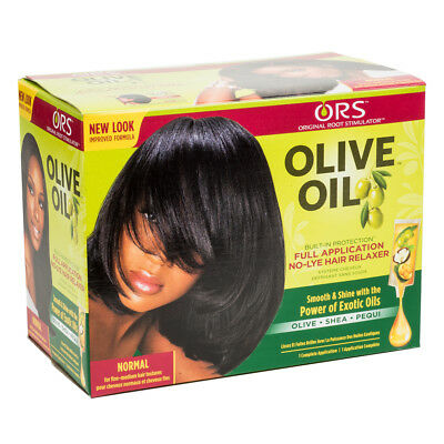 ORS Olive Oil Built-in Protection No Lye Relaxer Kit Fine Medium Hair - Normal