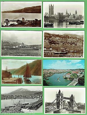 #d270. Twenty Four(24)  Ship  / Boat  Related  Postcards