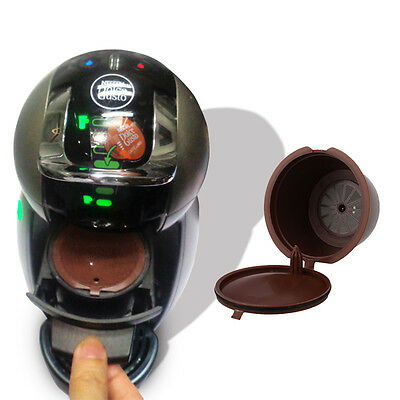 HOT Useful K Cups Coffee Refillable Capsule Pods For Nescafe Dolce Gusto Machine
