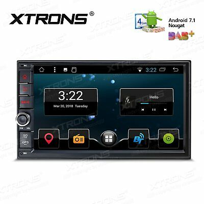 "7"" 2 DIN Head Unit Android 4.4 Car Stereo GPS Navigation Bluetooth FM Radio OBD2"