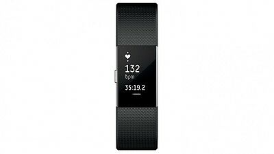 Fitbit Charge 2 Black Large Activity Tracker Make Every Beat Count New Arrival