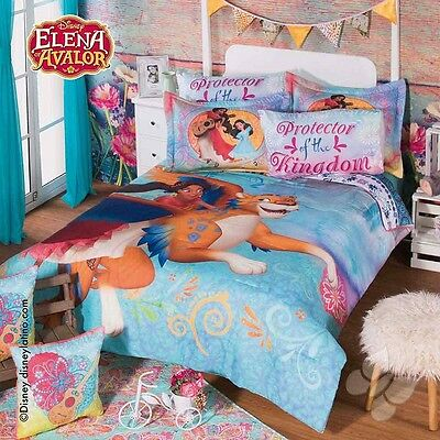 New Girls Disney ELENA OF AVALOR Protector Kingdom Comforter Sheet Bedding Set